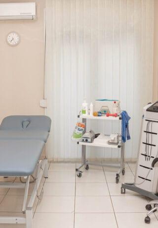δωμάτιο φυσικοθεραπευτηρίου
